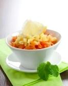 Морковный салат с имбирной заправкой